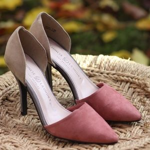 Chinese Laundry Color Blocked Heels